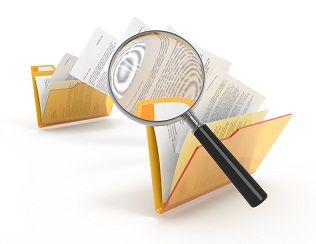 Scanning of transferring files.